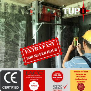 Tupo New Generation Digital Wall Plastering Machine Export to South Africa pictures & photos