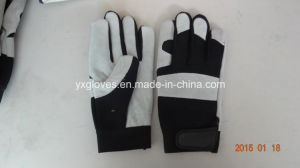 Glove-Mechanic Glove-Leather Glove-Leather Working Glove-Hand Protected-Cow Leather Glove pictures & photos