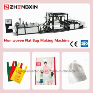 Non Woven D-Cut Bag Making Machine with High Speed (ZXL-B700) pictures & photos