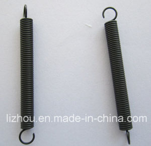 Long Tension Spring with Blackening Surface Treatment pictures & photos