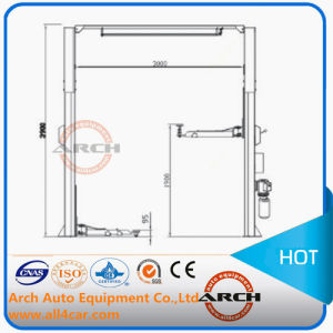 Auto Two Post Car Lift with Ce pictures & photos