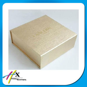Magnetic Closure Golden Paper Gift Box Accept Flat Delivery Wholesale pictures & photos