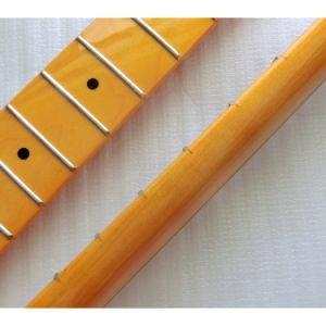 Finished One Piece Canadian Maple Electric Guitar Neck pictures & photos