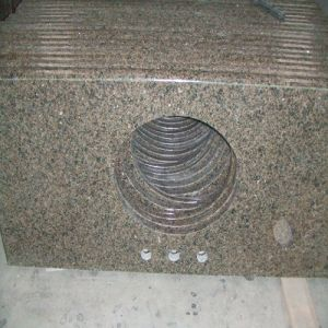 Tropical Brown Granite Bench Top/Kitchen Island pictures & photos