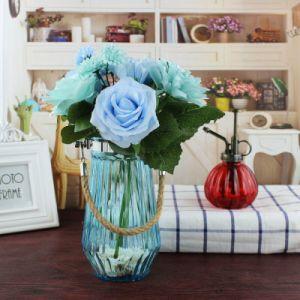 Portable Colorful Glass Vase /Home Decorative Glass Vase pictures & photos