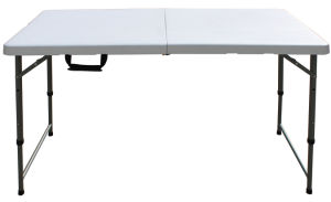 4ft Rectangle Folding Table/Height Adjustable Table (HP-122CZ)