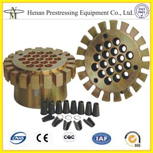 15.24mm 19 Holes/ 25 Holes/ 28 Holes/ 30 Holes/ 33 Holes/36 Holes Anchorage Coupler pictures & photos