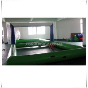 New Made Water Games Inflatable Water Volleyball Court Factory Price pictures & photos
