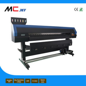 10FT Large Format Eco Solvent Digital Flex Printer Machine with Epson Dx10 for Sticker pictures & photos