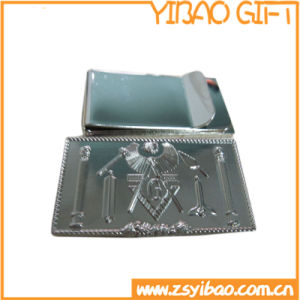 Cheap Custom Silver Money Clip for Business Gifts (YB-MC-02) pictures & photos