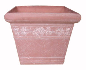 Recycled Plastic Flower Pot (10EDS30)