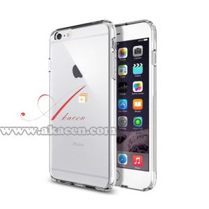 Wholesale Transparent Soft TPU Mobile Phone Case for iPhone 6 Plus 5.5-Inch