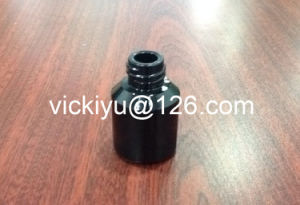 15ml Glass Serum Bottles, Essential Oil Bottles, Black Series of Glass Lotion Bottles pictures & photos
