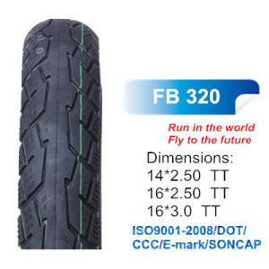High Strength Motorcycle Scooter Tyre Bias Tire Fb320 14*2.50 16*2.50 16*3.0