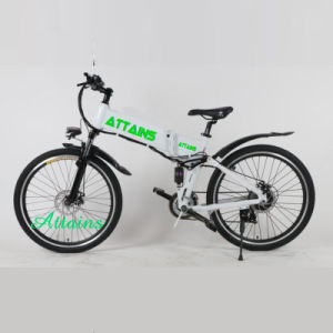 26 Inch Lithium Battery City Urban Mountain Folding Electric Bike pictures & photos