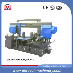 Horizontal Rotary Double Column Band Sawing Machine (GR-500) pictures & photos