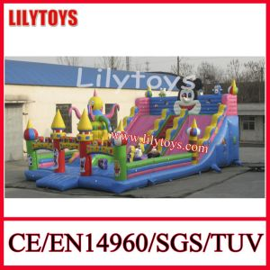 Giant PVC Material Inflatable Fun City Slide Inflatable Castle for Amusement Park (J-IFCT-001) pictures & photos