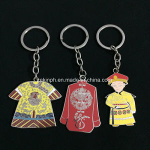 Customized Chinese Theme Synthetic Enamel Keychain pictures & photos