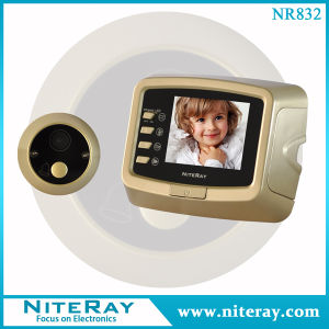New Door Viewer with Video Peephole Door Camera Support Video Recording & Take Photo