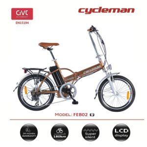 "20"" 36V Folding Electric Bicycle En15194"