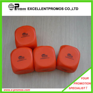 Promotion Top Quality Logo Printed Colorful PU Stress Dice (EP-PS1076) pictures & photos