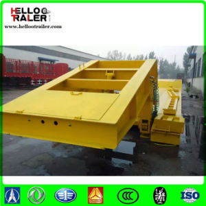 Heavy Duty Truck 60 Ton Low Flatbed Semi Trailer Low Loader pictures & photos