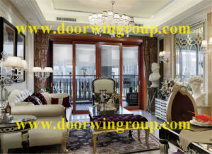 Luxury Solid Wood Aluminum Windows for Villa pictures & photos
