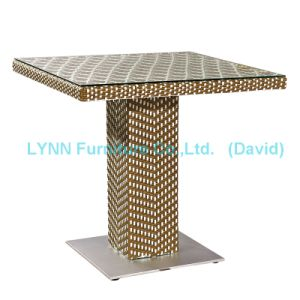 Mixed Color Rattan Table Wicker Furniture pictures & photos