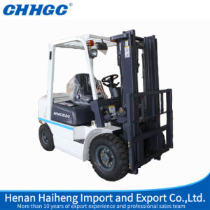 2016 Hot Sale 2000kg Four-Wheel Cheap DC/AC Electric Forklift Cpd20 pictures & photos