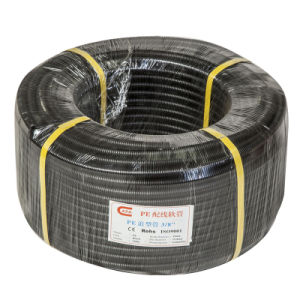 High Quality Low Price PVC Corrugated Plastic Flexible Corrugated Tubing (NL206)