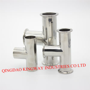 Stainless Steel Sanitary Welded Tee pictures & photos