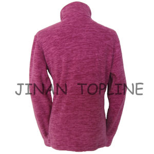 Women Long Sleeve Micro Fleece Slim-Fitting Fashion Jacket pictures & photos