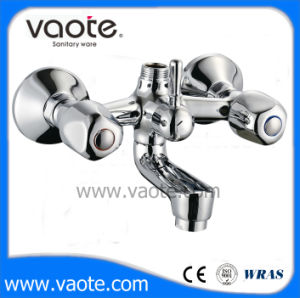 Double Handle Brass Body Shower Faucet (VT61201) pictures & photos