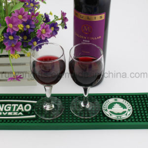 Customized Soft PVC Glass Bottle Mat (BAM016) pictures & photos
