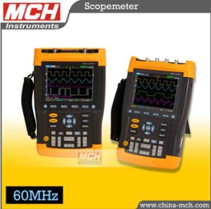 60MHz Dual Channel 2 Channels 2GS/S Sampling, Digital Handheld Oscilloscope, Portable Oscilloscope, Digital Handheld Scopemeter, Handheld Scope Meter (DS1060S)