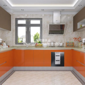 American Standard MDF Modern Kitchen Cabinets pictures & photos