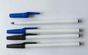 Wholesale Simple Plastic Ball Pen pictures & photos