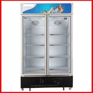Beverage and Frozed Foor Upright Freezer Glass Door pictures & photos