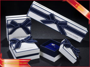 Fashion Paper Jewelry Box Bow Necklace Paper Box pictures & photos