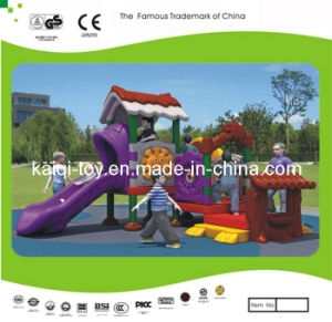 Kaiqi Small Plastic Series Children′s Playground (KQ10158A) pictures & photos