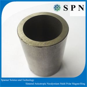 Strong NdFeB Multipole Sintered Manget Motor Rings pictures & photos