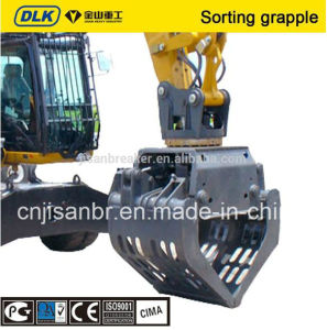 Excavator Rotary Sorting Grab Grapple for 12-16tons Carrier pictures & photos