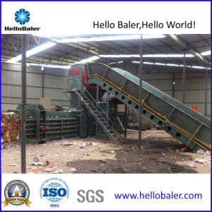 Semi-Automatic Hydraulic Waste Paper Press Machine pictures & photos