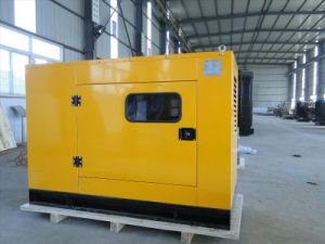 Diesel Powered Standby Silent Diesel Generator Set pictures & photos