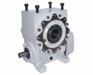 Flange Mounted Cone Worm Gear Reducer pictures & photos