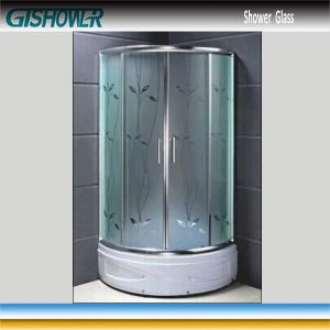 Tempered Shower Glass (Acid No 12) pictures & photos