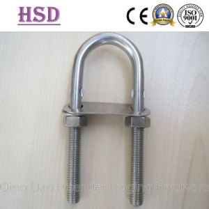 Stainless Steel U Bolt with Washer and Plate and Nut pictures & photos
