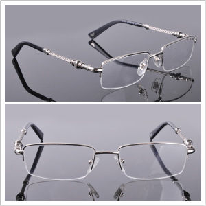 Half-Rim Lens / Men′s Style / New Arrial Eye Glass (9020) pictures & photos