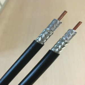 Bare Copper, PVC Jacket 50 Ohm 7D-Fb Coaxial Cable for CDMA Telecommunication System pictures & photos