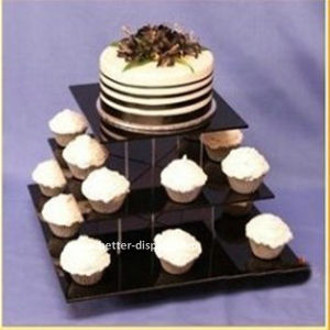 Black Acrylic Tiered Cake Stand (BTR-K3054) pictures & photos